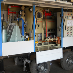 Lube Oil Filtration Plant